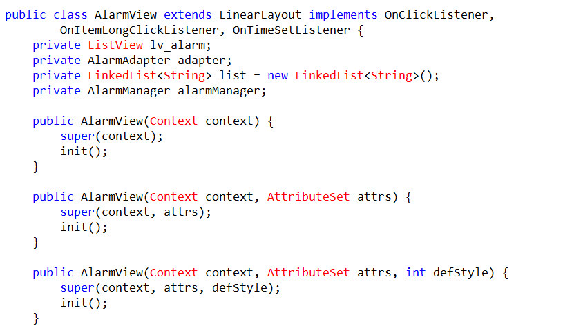 安卓开发中自定义控件的使用